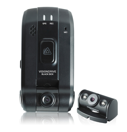 Autokamera VISIONDRIVE VD-1600HD 16GB mit GPS - Dashcam