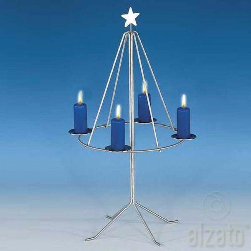heibi stand adventskranz edelstahl 56238 072 www. Black Bedroom Furniture Sets. Home Design Ideas